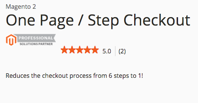 Optimizando el Checkout en Magento de 6 pasos a 1
