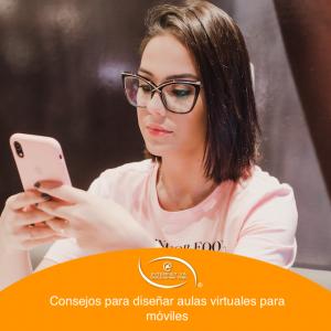Consejos para diseñar su aula virtual para móviles