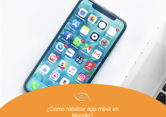 ¿Cómo habilitar app móvil en Moodle?