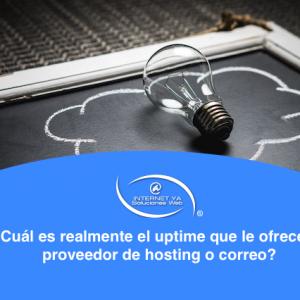 ¿Cuál es realmente el uptime que le ofrece su proveedor de hosting o correo?