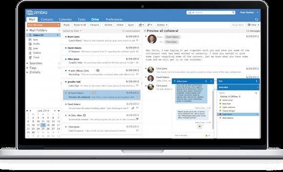 Principales beneficios del servidor de correo Zimbra para empresas