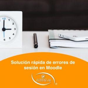 Solución rápida de errores de sesión en Moodle