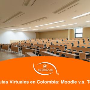 Aulas Virtuales en Colombia: Moodle v.s. Totara
