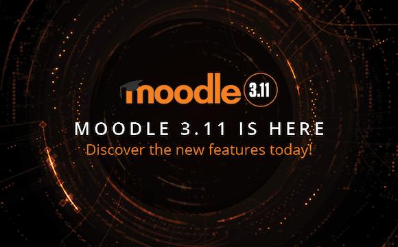 Conozca mejoras incluidas en Moodle 3.11