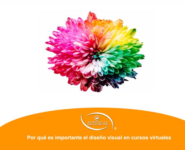 Por qué es importante el diseño visual en cursos virtuales