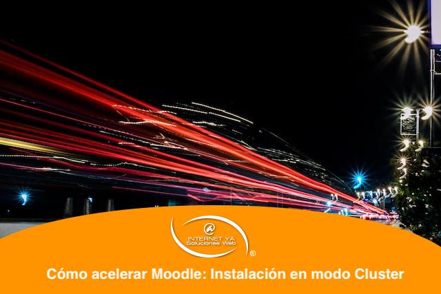 Cómo acelerar Moodle: Instalación en modo Cluster